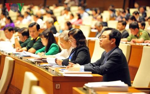 Meinungen der Wähler über die erste Sitzung des Parlaments der 14. Legislaturperiode - ảnh 1