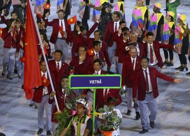 Eröffnung der olympischen Sommerspiele in Rio de Janeiro - ảnh 1