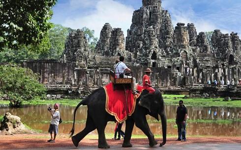 Die meisten ausländischen Touristen in Kambodscha kommen aus Vietnam - ảnh 1
