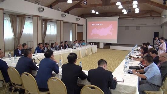 Bilanz über die Arbeit des Verband der vietnamesischen Unternehmen in Russland - ảnh 1