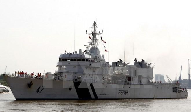 Das Schiff der indischen Küstenwache zu Gast in Vietnam - ảnh 1