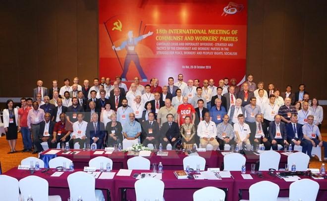 Internationales Treffen der Kommunistischen Parteien und Arbeiterparteien in Hanoi - ảnh 1