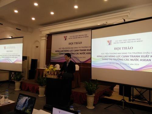 Erhöhung der Wettbewerbsfähigkeit beim Export in ASEAN-Länder - ảnh 1
