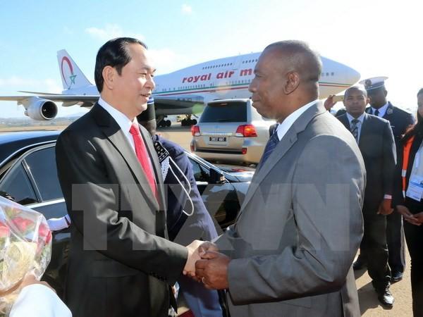 Staatspräsident Tran Dai Quang wird an der Frankophonie-Konferenz in Madagaskar teilnehmen - ảnh 1