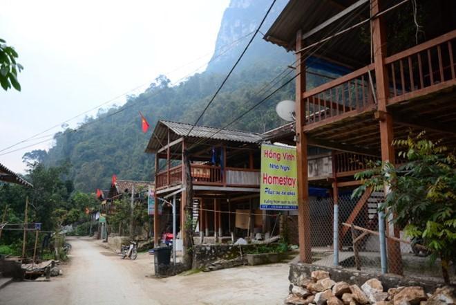 Das Dorf Pac Ngoi beschäftigt sich mit Homestay-Tourismus - ảnh 2