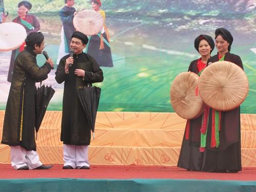 Bewahrung des folkloristischen Gesangs Quan Ho am Ufer des Flusses Cau - ảnh 1