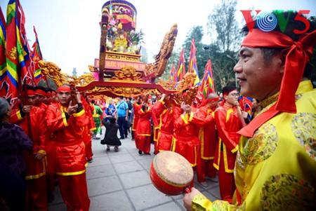 Dong Da-Hügelfest: Darstellung des historischen Kampfes gegen die Eroberung - ảnh 10