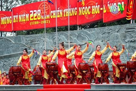Dong Da-Hügelfest: Darstellung des historischen Kampfes gegen die Eroberung - ảnh 13