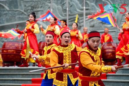 Dong Da-Hügelfest: Darstellung des historischen Kampfes gegen die Eroberung - ảnh 14