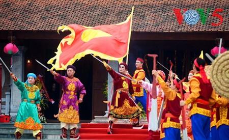 Dong Da-Hügelfest: Darstellung des historischen Kampfes gegen die Eroberung - ảnh 16