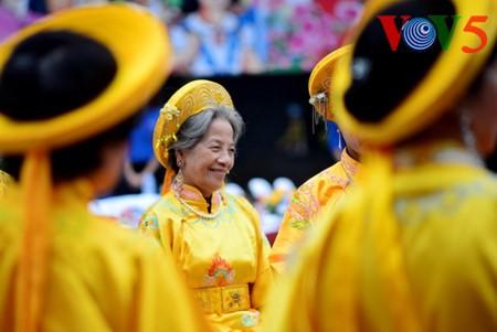 Dong Da-Hügelfest: Darstellung des historischen Kampfes gegen die Eroberung - ảnh 4