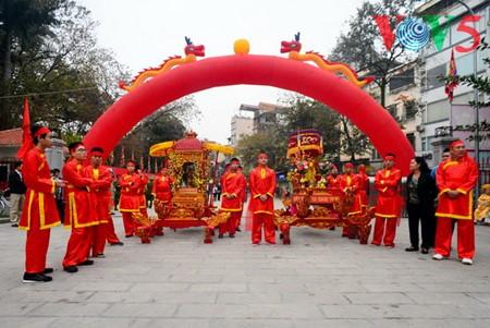 Dong Da-Hügelfest: Darstellung des historischen Kampfes gegen die Eroberung - ảnh 8