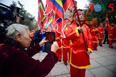 Dong Da-Hügelfest: Darstellung des historischen Kampfes gegen die Eroberung - ảnh 9