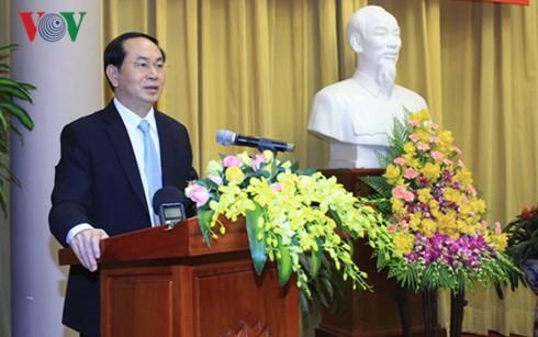 Verstärkung der nationalen Solidarität beim Aufbau und der Verteidigung des Landes - ảnh 1