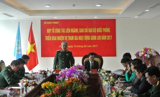 Vietnamesisches Verteidigungsministerium: Umsetzung der UN-Friedensmissionen - ảnh 1