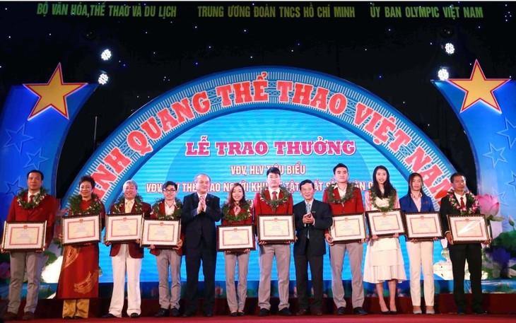"""Programm """"Ruhmreicher Sport Vietnams"""" - ảnh 1"""