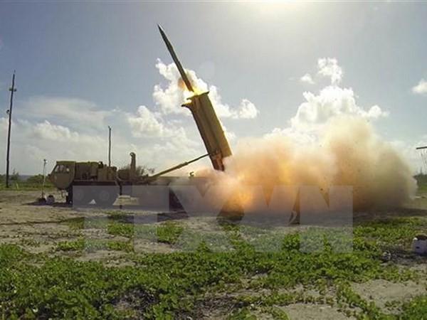 Die USA testen erfolgreich das THAAD-Abwehrsystem - ảnh 1