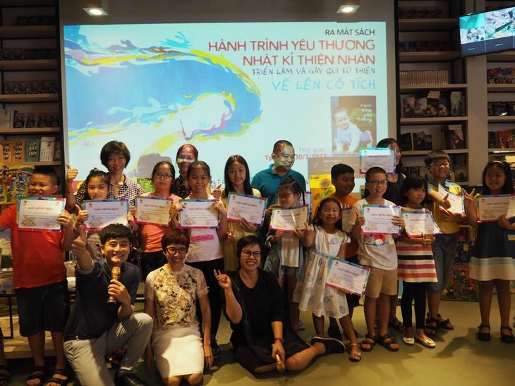 Zusammen mit Thien Nhan beim Zeichnen der märchenhafen Reise - ảnh 1