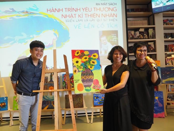 Zusammen mit Thien Nhan beim Zeichnen der märchenhafen Reise - ảnh 2