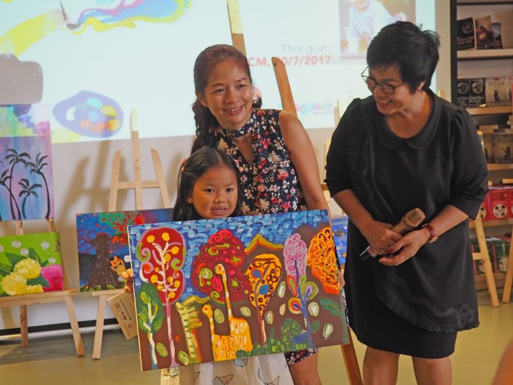 Zusammen mit Thien Nhan beim Zeichnen der märchenhafen Reise - ảnh 3