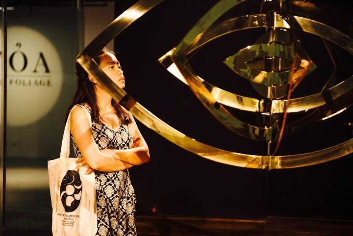 Das zeitgenössische Kunstzentrum Vincom – wo die Kunst verbindet und verbreitet wird - ảnh 2