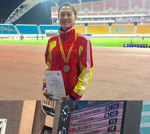 Leichtathletik- Goldbergwerk des vietnamesischen Sports bei den südostasiatischen Spielen - ảnh 1