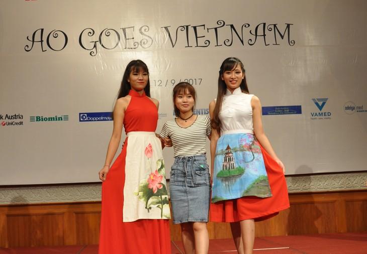 Das österreichische Dirndl im vietnamesischen Stil - ảnh 11