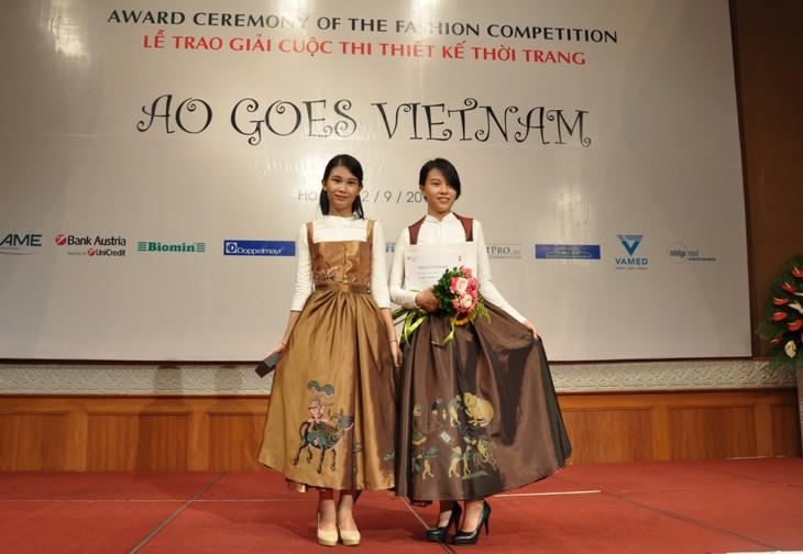 Das österreichische Dirndl im vietnamesischen Stil - ảnh 13