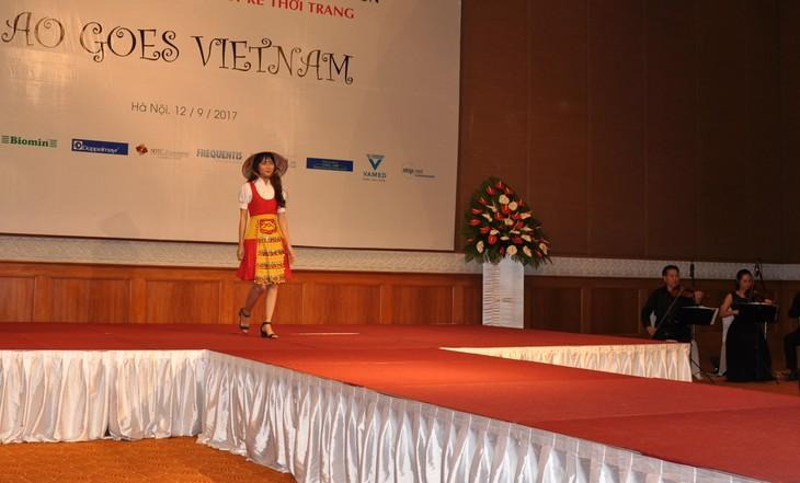 Das österreichische Dirndl im vietnamesischen Stil - ảnh 3