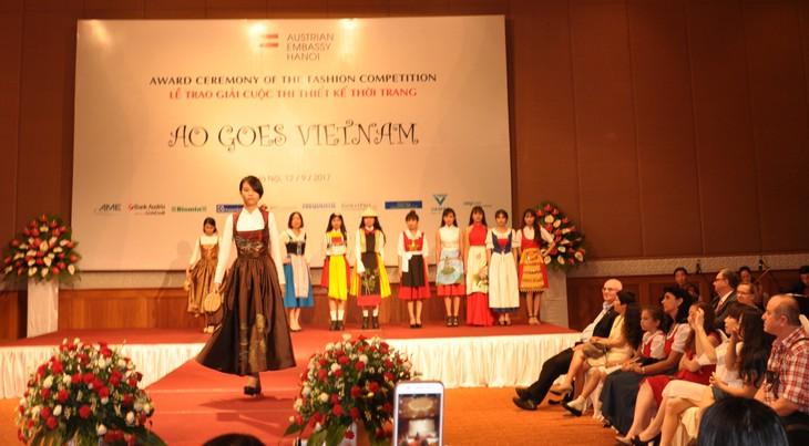 Das österreichische Dirndl im vietnamesischen Stil - ảnh 5