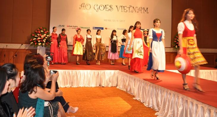 Das österreichische Dirndl im vietnamesischen Stil - ảnh 6