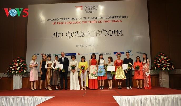 """Design-Wettbewerb """"Ao goes Vietnam"""": Eine harmonische Mischung beider Kulturen - ảnh 1"""