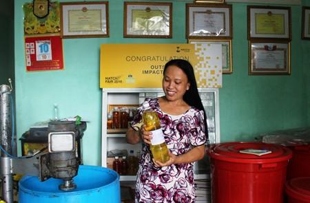 Kreative Frauen für die Anpassung an den Klimawandel - ảnh 1