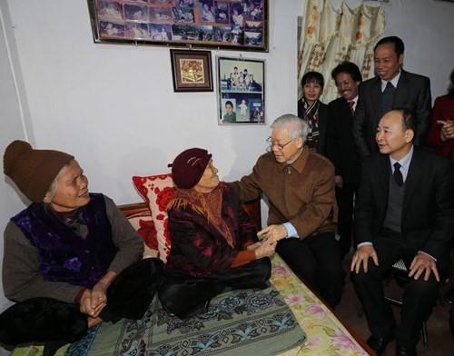 KPV-Generalsekretär Nguyen Phu Trong besucht die Provinz Thai Binh - ảnh 1