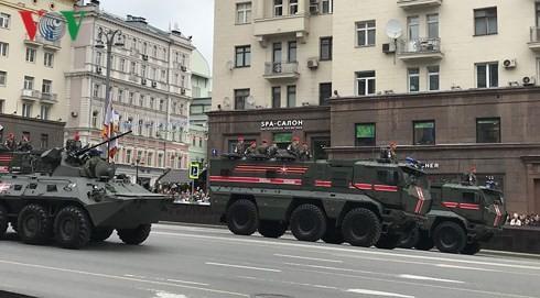 """Generalprobe für Parade zum """"Tag des Sieges"""" in Russland  - ảnh 1"""