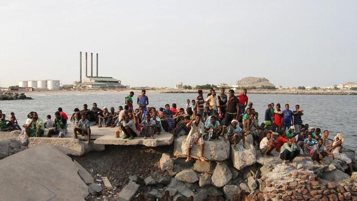 Yémen: des centaines de migrants délibérément jetés dans la Mer Rouge - ảnh 1