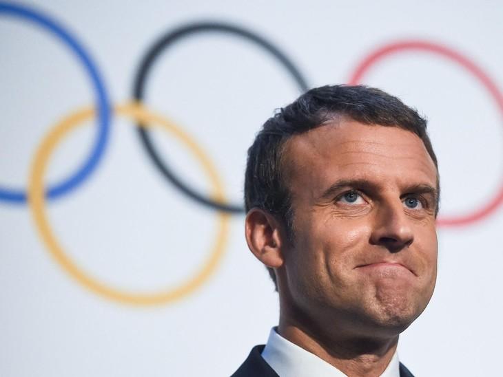 Macron élu personnalité de moins de 40 ans la plus influente du monde - ảnh 1