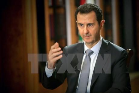 Le président syrien ne veut pas de relations avec les pays soutenant les rebelles syriens - ảnh 1
