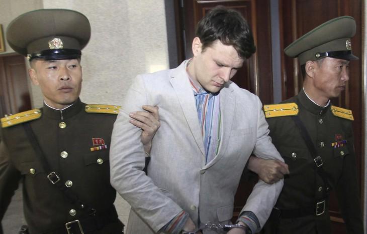 Pyongyang: Le corps d'Otto Warmbier ne porte «pas de traces de tortures» - ảnh 1