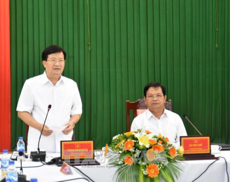 Trinh Dinh Dung se rend à Quang Ngai - ảnh 1