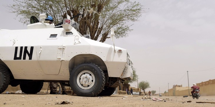 Mali: trois Casques bleus tués, deux blessés - ảnh 1