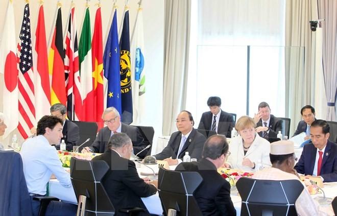 Le Vietnam au Sommet du G7 élargi - ảnh 1