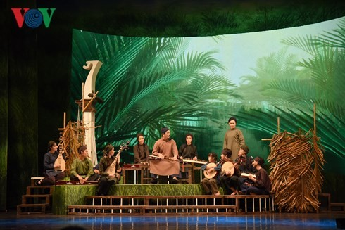 """""""Maître Ba Doi"""" ou la rencontre du cai luong du Nord, du Centre et du Sud - ảnh 2"""