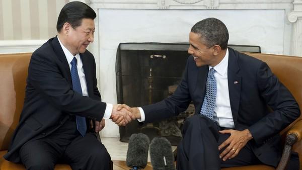 ประธานประเทศจีนจะพบปะกับประธานาธิบดีสหรัฐ - ảnh 1