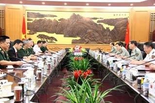 การสนทนาด้านกลาโหมระหว่างเวียดนามกับจีนครั้งที่ 4 ได้ประสบความสำเร็จ - ảnh 1