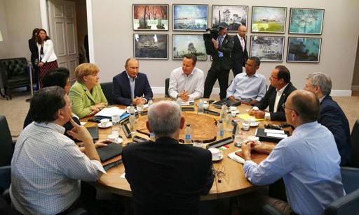 ปิดการประชุมสุดยอดกลุ่มประเทศอุตสาหกรรมชั้นนำของโลก หรือ จี 8  - ảnh 1