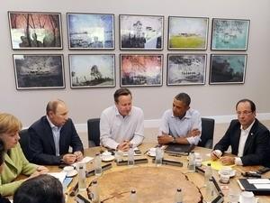 การประชุมสุดยอดจี8 ไม่สามารถบรรลุความคืบหน้าใดๆในการแก้ไขวิกฤติในซีเรีย - ảnh 1