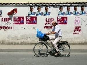การเลือกตั้งรัฐสภาแอลเบเนีย - ảnh 1
