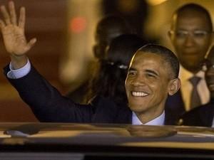 ประธานาธิบดีสหรัฐ บารัค โอบาม่า เริ่มการเยือนทวีปแอฟริกา - ảnh 1