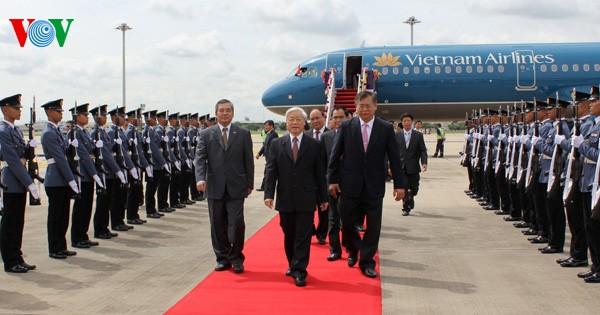 สื่อไทยชื่นชมการเยือนไทยของท่าน เหงียนฟู้จ๋อง เลขาธิการใหญ่พรรคคอมมิวนิสต์เวียดนาม - ảnh 1